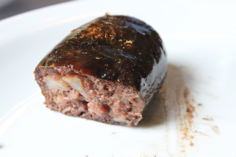 Morcilla - blood sausage