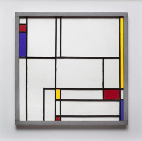 Juan Mele, Obra Homenaje a Mondrian (1948) - Reminds me of some of the art in my grandparents house in Blowing Rock, NC