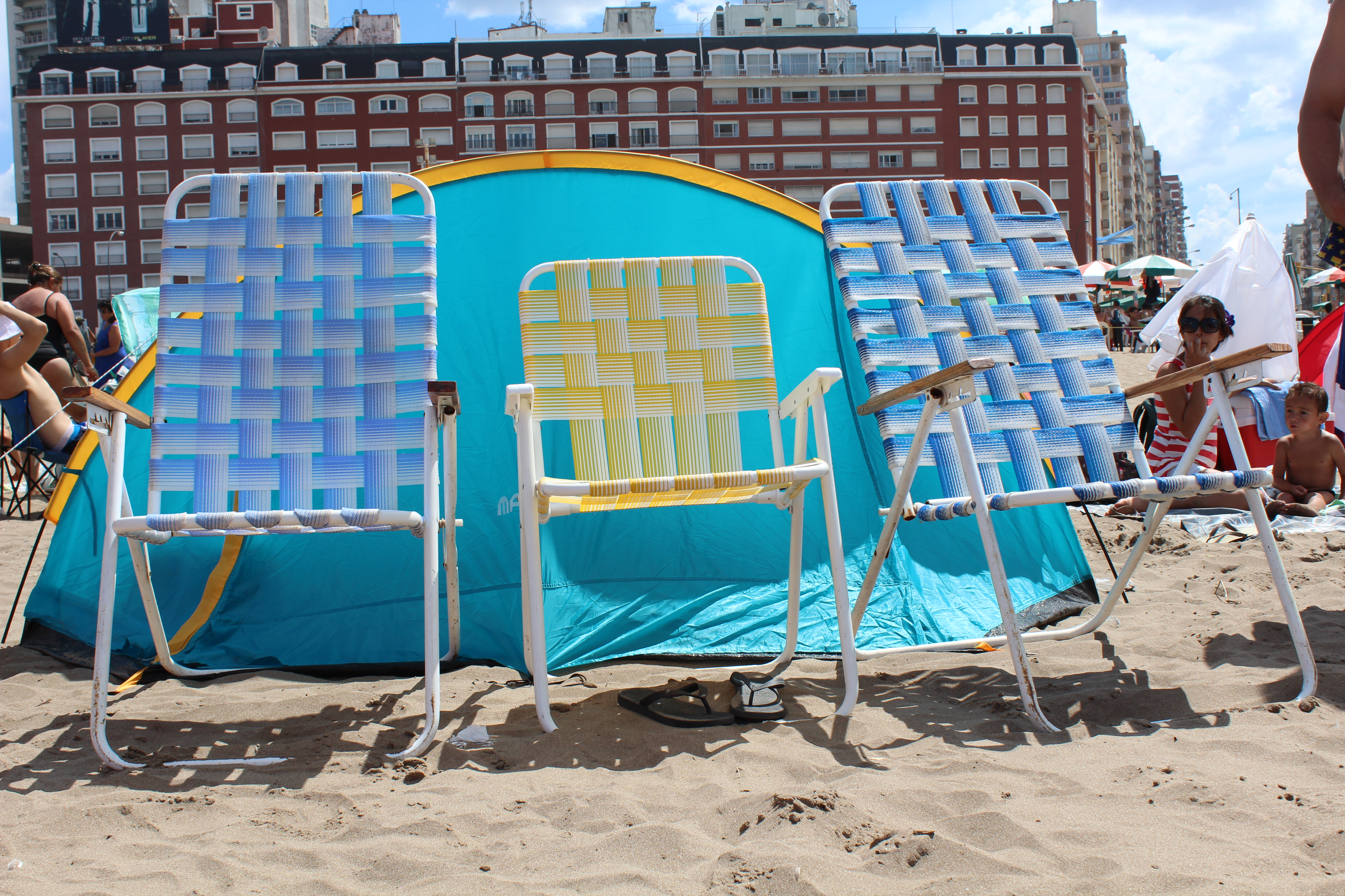 Best beach chair 2013 - Sometimes All You Need Are Some Beach Chairs And The Sun
